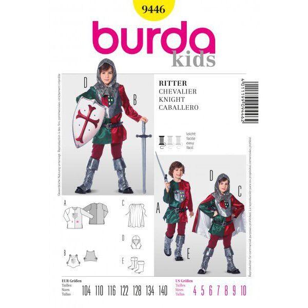 Burda Schnittmuster 9446 für historisches Ritter-Kostüm