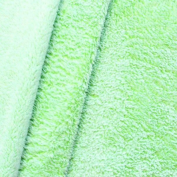 Wellness Fleece Frost Effect Limetten-Grün