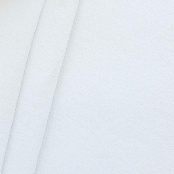 Bastel Filz Stärke 3,0 mm Breite 90 cm Farbe Weiss