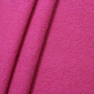 100% Wolle Walkloden Farbe Fuchsia