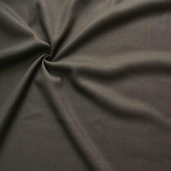 Wollmix Modestoff Wollmischung Wollstoff Wool Blend Anthrazit
