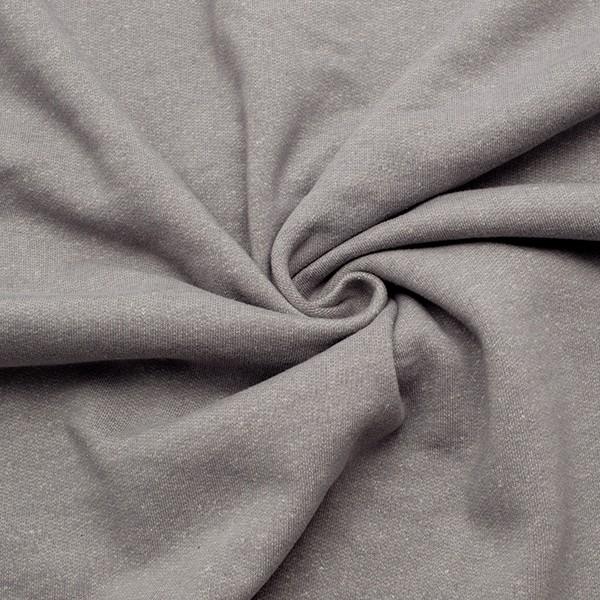 Sweatshirt Baumwollstoff Winter Melange Grau