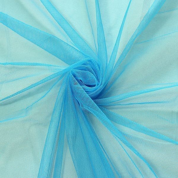 Braut Tüll Soft Touch Türksi-Blau