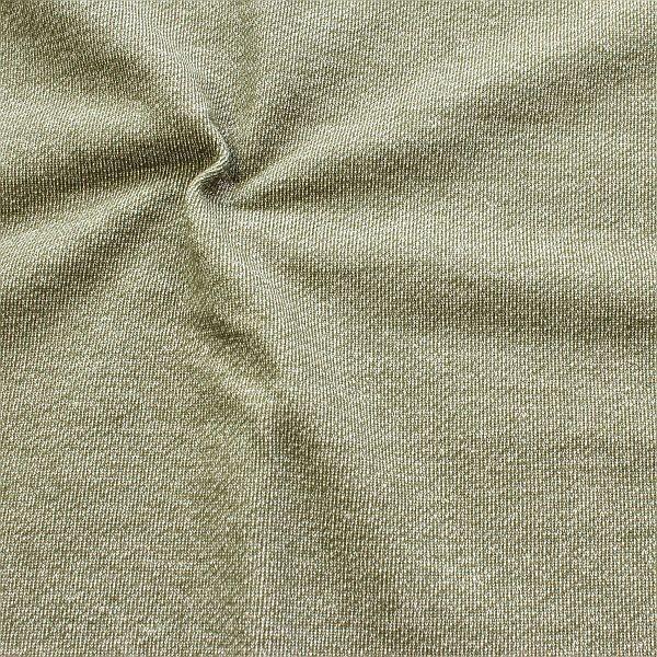 Sweatshirt Baumwollstoff French Terry Melange Grün