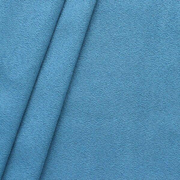 8,00 Meter Microfaser Polster- Möbelstoff Artikel New Alcazar Farbe Brilliant-Blau