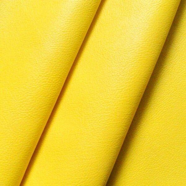 Nappaleder Imitat Farbe Gelb