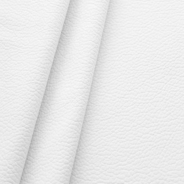 Polster PVC Kunstleder Büffel Optik Weiss