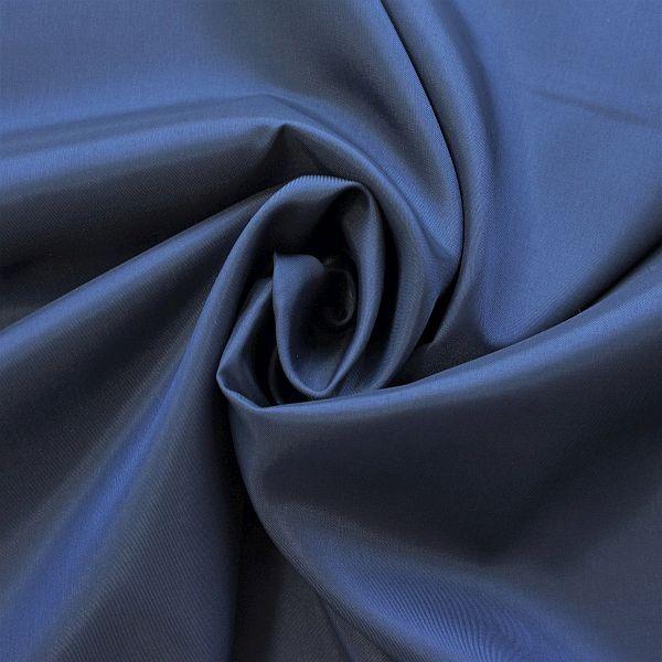 Acetat Taft Dunkel-Blau