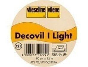 Vlieseline Decovil I light lederähnliche aufbügelbare Einlage Farbe Beige
