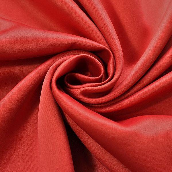 Verdunkelungsstoff Gardinenstoff Vorhangstoff Black Out Karmin-Rot