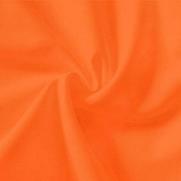 100% Baumwolle Fahnentuch Farbe Orange