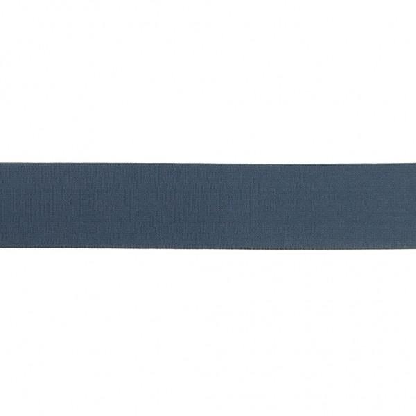 Elastikband 40mm Jeans-Blau