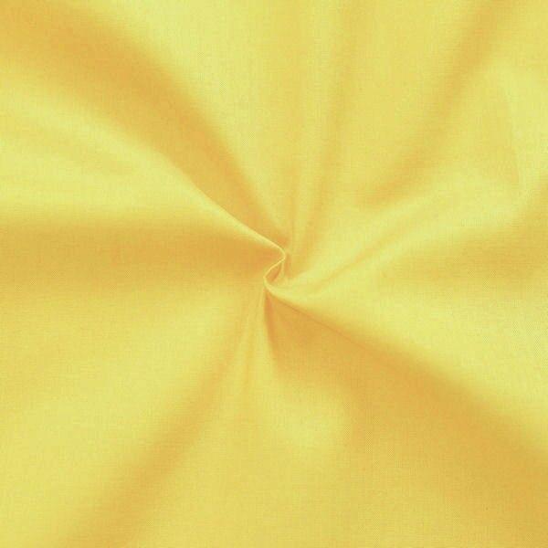 100% Baumwolle Musselin Gelb
