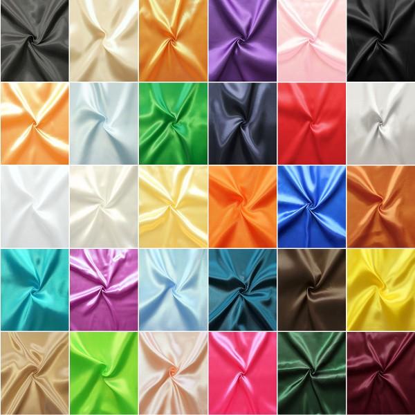 Musterkarte Polyester Satin