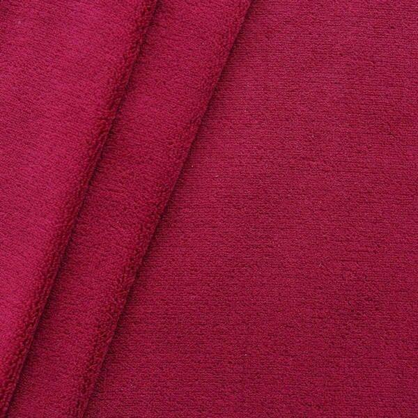 Wellness Fleece Farbe Weinrot