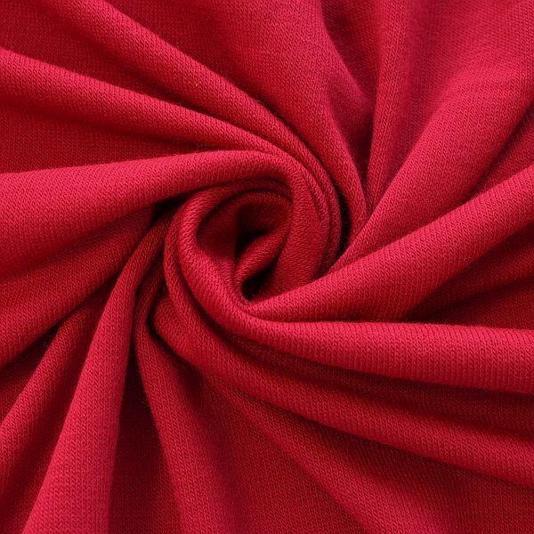 Feinstrick Jersey Classic Knitwear Rot