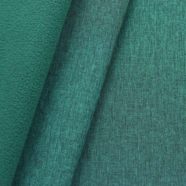 Petrol Farbe softshell fleece stoff melange farbe petrol outdoorstoffe