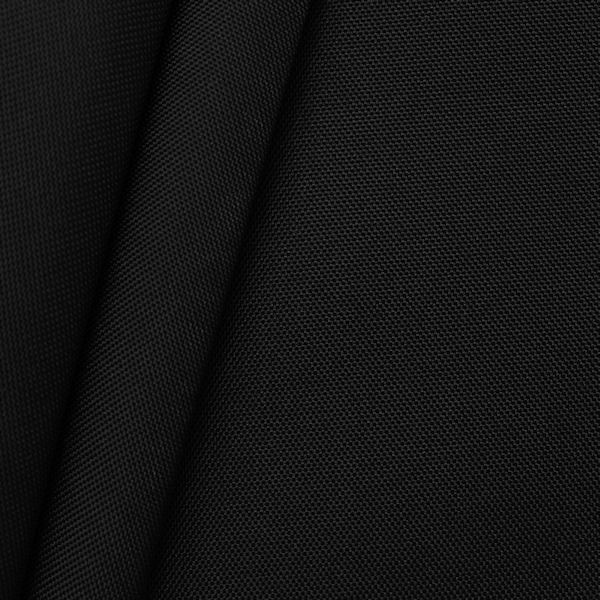 Oxford Polyester Gewebe 600D Farbe Schwarz