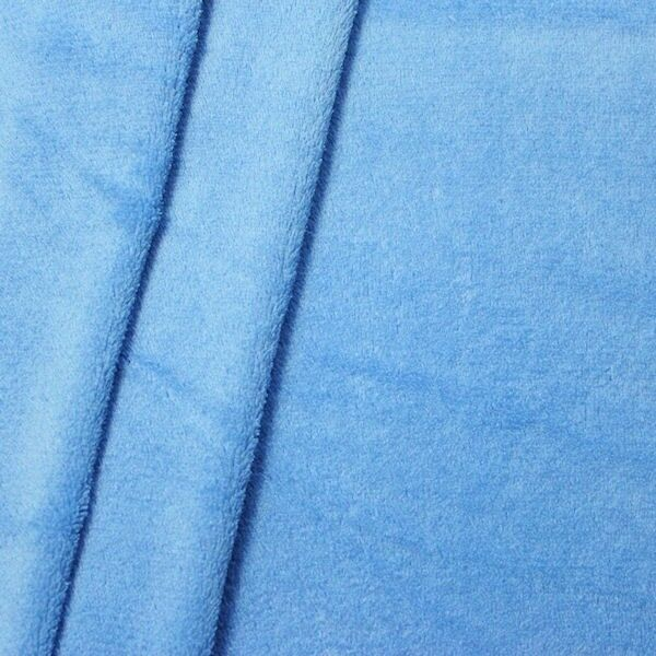 Wellness Fleece Farbe Hell-Blau