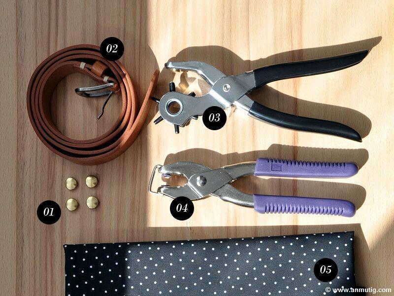 taschenhenkel aus leder selbst gemacht. Black Bedroom Furniture Sets. Home Design Ideas