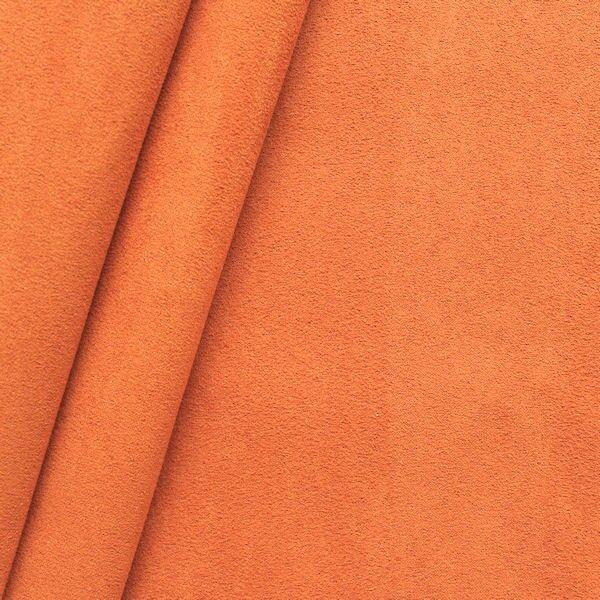 Microfaser Polster- Möbelstoff Artikel Bonova Farbe Orange