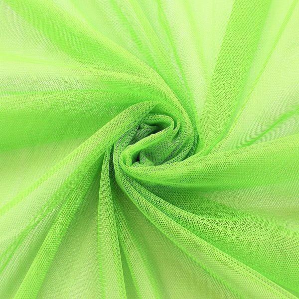 Braut Tüll Soft Touch Lind-Grün