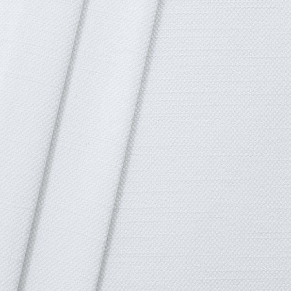 Polster- Möbelstoff Artikel Livento Leinen-Baumwolle Optik Farbe Weiss