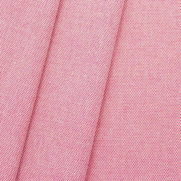 Dekostoff Melange Natur Pink