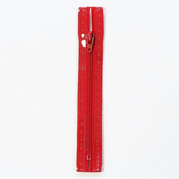 Reißverschluss S1 Typ 12 cm Rot