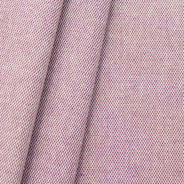 Dekostoff Melange Natur Violett