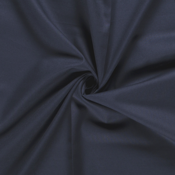 Baumwollstoff Cretonne Breite 270cm Dunkel-Blau