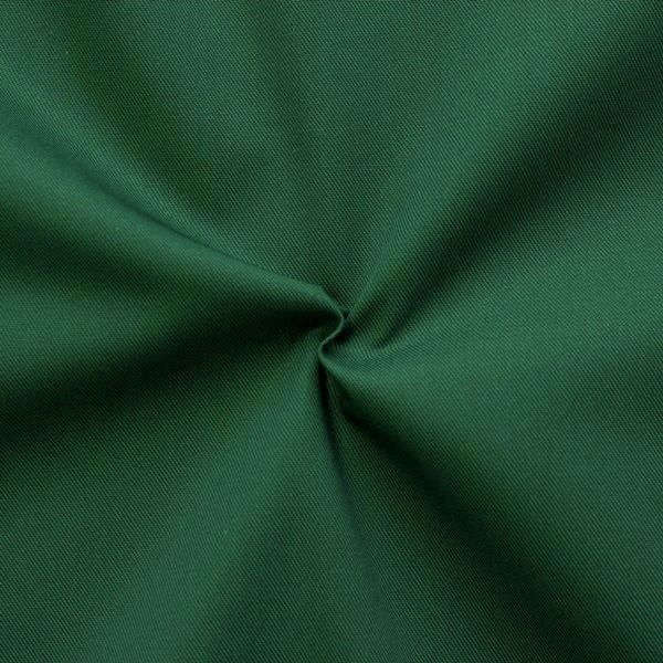 Polyester-Baumwoll Köper Basic Workwear Dunkel-Grün