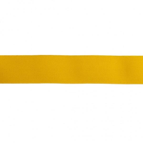 Elastikband 40mm Senf-Gelb