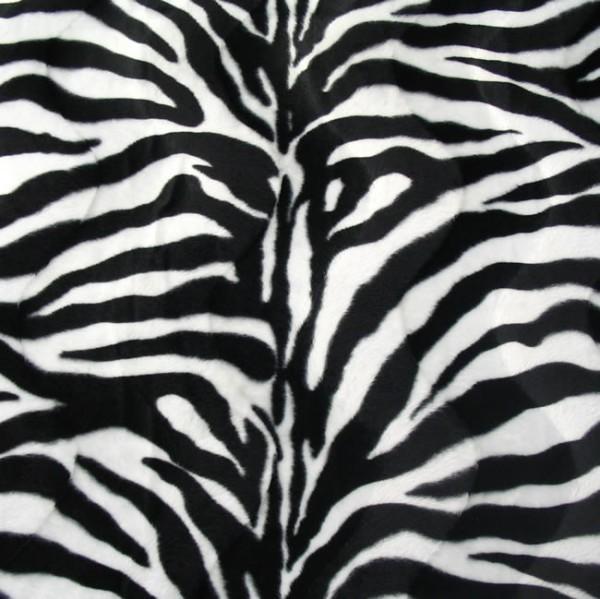 Zebra Tierfellimitat