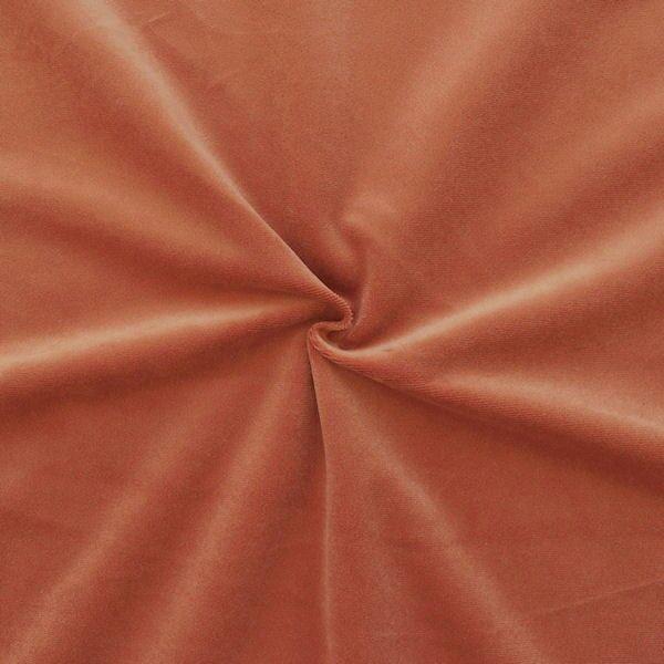 Microfaser Polster- Möbelstoff Artikel Velnesse Farbe Terrakotta