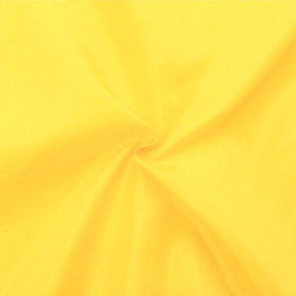 Polyester Taft Futterstoff Gelb