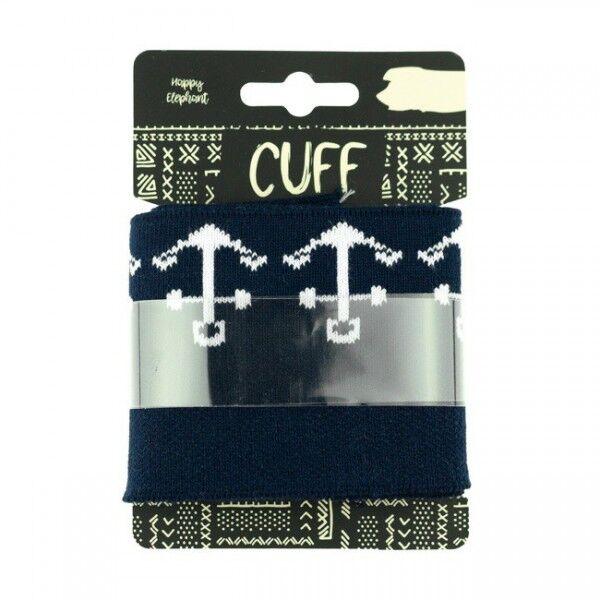 Board Cuff Bündchen Anker Navy-Blau