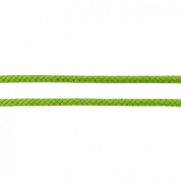 Baumwollkordel 8mm  Lind-Grün
