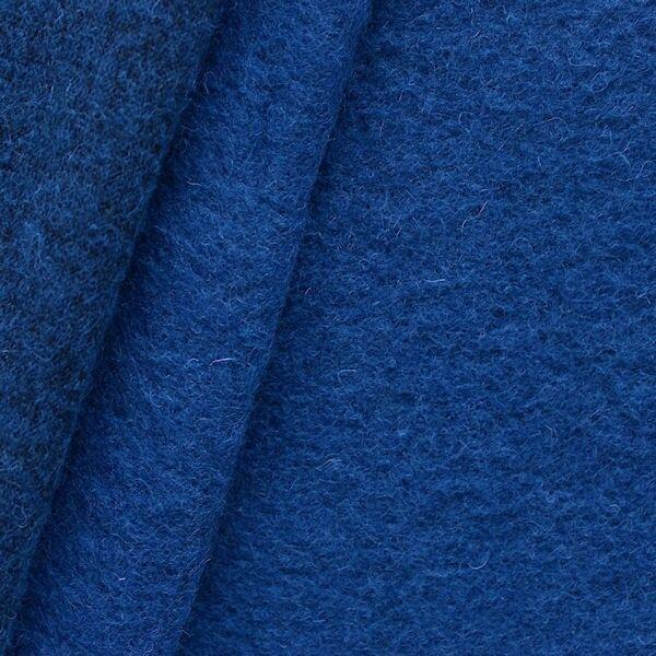 "Wollmix Walkstoff ""lana cotta"" Farbe Royal-Blau"