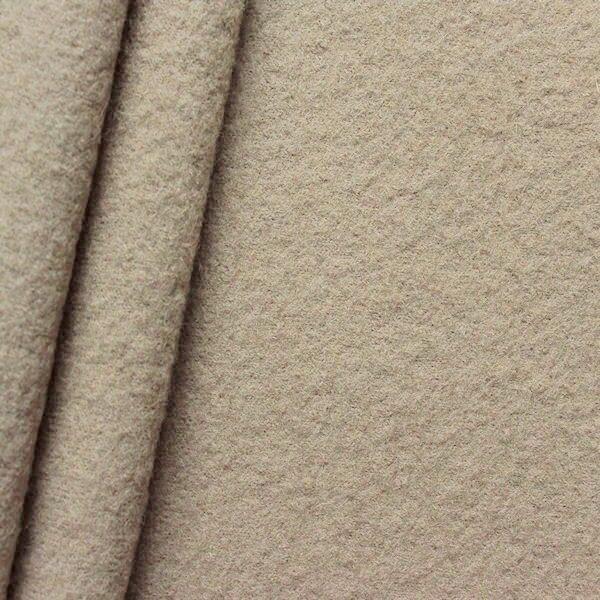 100% Wolle Walkloden Beige