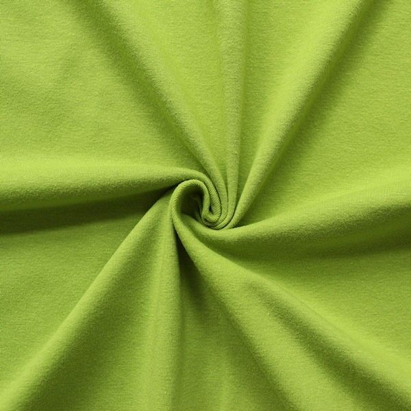 Baumwoll Stretch Jersey Lind-Grün