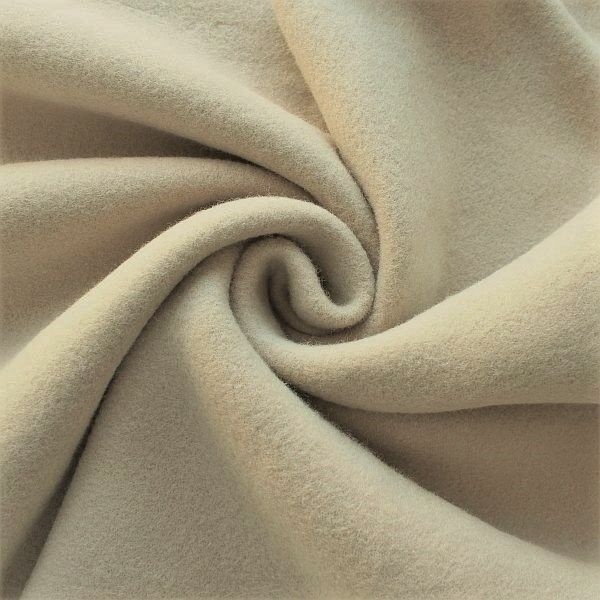 Baumwolle Fleece Season Classic Beige