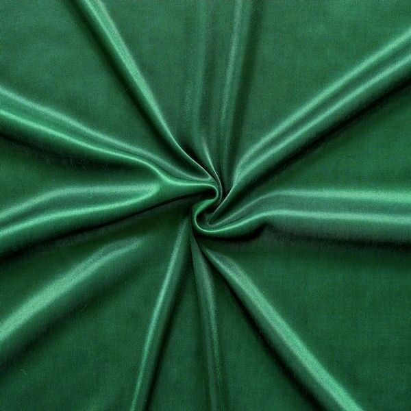 Charmeuse Bekleidungs- Futterstoff Dunkel-Grün
