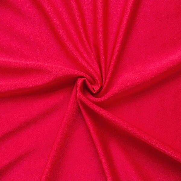 Bi-Stretch Jersey Badeanzug Stoff Farbe Rot