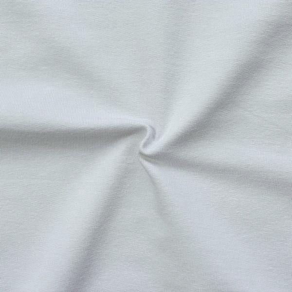"""Sweatshirt Baumwollstoff French Terry """"Fashion Basic 2"""" Farbe Hell-Grau"""