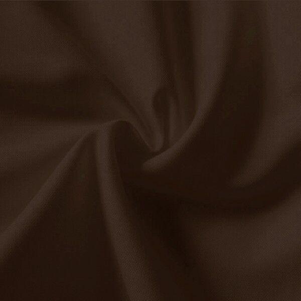 100% Baumwolle Fahnentuch Farbe Dunkel-Braun