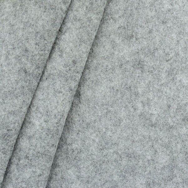 Dekorations Bastel Filz Breite 180 cm Farbe Hell-Grau meliert