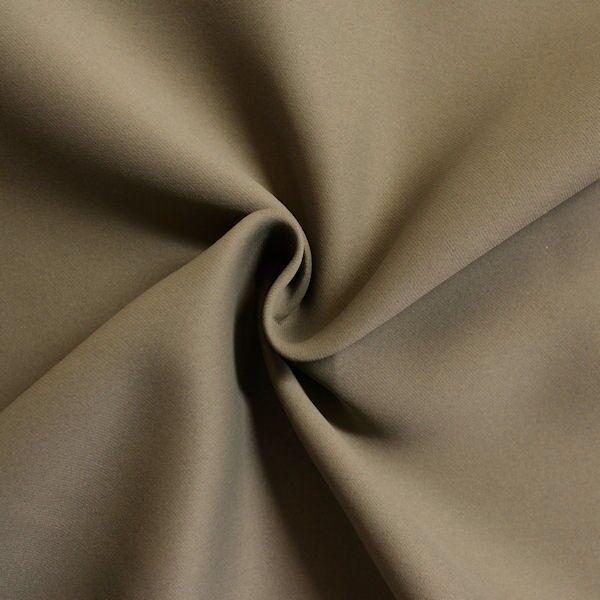 Vorhangstoff Khaki-Grau