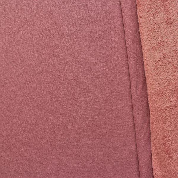 Alpenfleece Sweatshirt Alt-Rosa