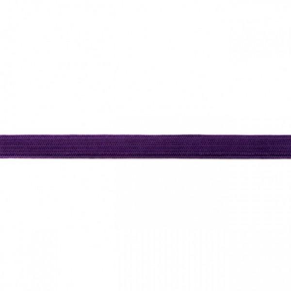 2m Elastikband Breite 10mm Farbe Violett